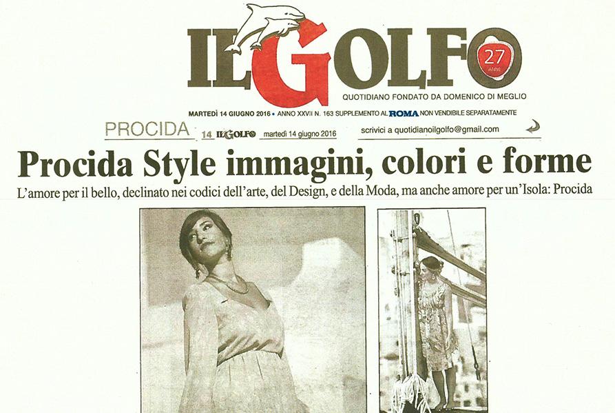 Mostra Le stoffe moderne di Luigi Nappa incontrano il gioiello design GiAnfio Sfilata Talenti per Procida tra moda e design